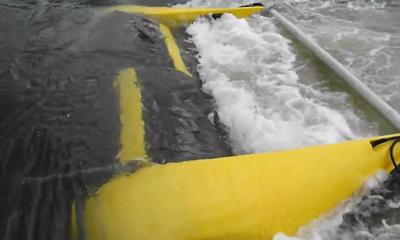hydrovolts turbina media canale Turbina Hydrivolts: energia dai canali di irrigazione